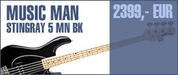 Music Man Stingray 5 MN BK