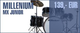 Millenium MX Jr. Junior Drumset