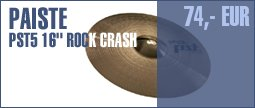 "Paiste PST5 16"" Rock Crash"