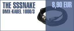 The Sssnake DMX-Cable 1000/3