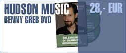 Hudson Music Benny Greb The Language DVD E