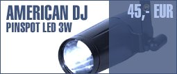 American DJ Pinspot LED 3W