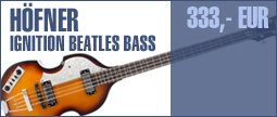 Höfner Ignition Beatles Bass VSB LH