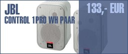 JBL Control 1Pro WH Pair