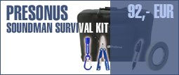 Presonus Soundman Survival Kit
