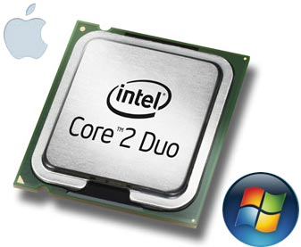Intel CPU for PC and Mac