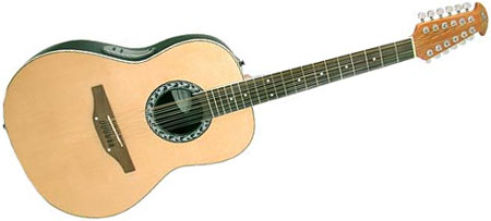 12 string acoustic guitar