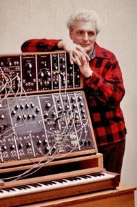 grundare Bob Moog