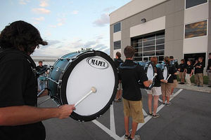 The Mapex Marching Band
