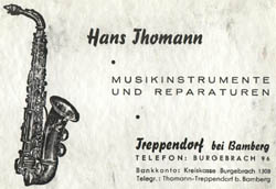 Hans Thomann Sr.