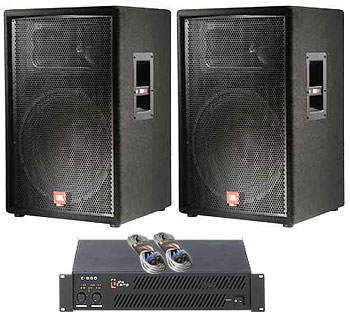 JBL JRX 115 Bundle