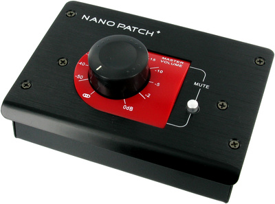 SM Pro Audio Nano Patch Plus Lautsärkecontroller schwarz