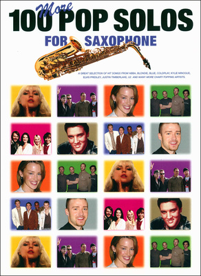 Music Sales 100 More Pop Solos for Sax