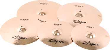 Zildjian Zbt 4 Holiday Set Beckensatz