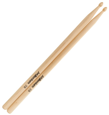 Millenium 5B Maple Drum Sticks -Wood-