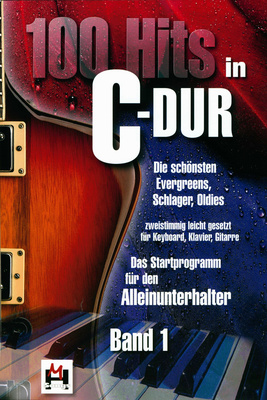 Hildner Musikverlag 100 Hits in C-Dur Bd.1