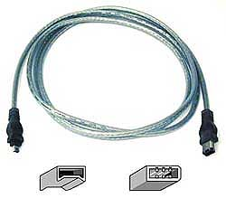 pro snake FireWire Cable 6/4 3m