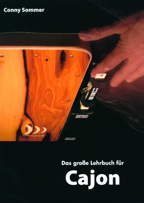 Schlagwerk C.Sommer Lehrbuch Cajon