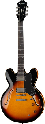 Epiphone The Dot Thinline E-Gitarre vintage sunburst