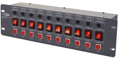 Showtec DJ Switch 10F