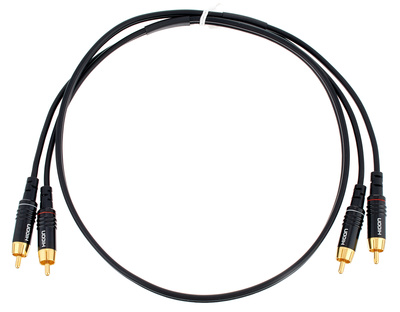 Sommer Cable Onyx Cinch / RCA Cable 1,0