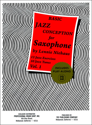 Advance Music Niehaus Basic Jazz Concep. 1