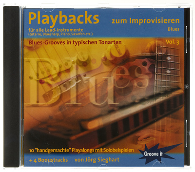 Tunesday Records Playbacks zum Improvisieren 3