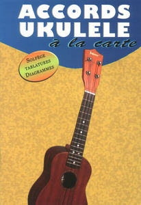 Editions Musicales Françaises Accords Ukulele a La Carte