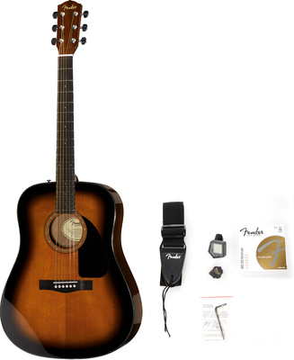 Fender Acoustic Pack CD-60 SB
