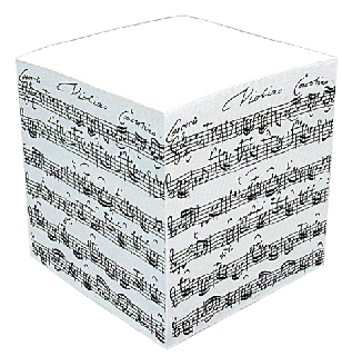 Musikboutique Hahn Notice Brick Bach Sheet Music