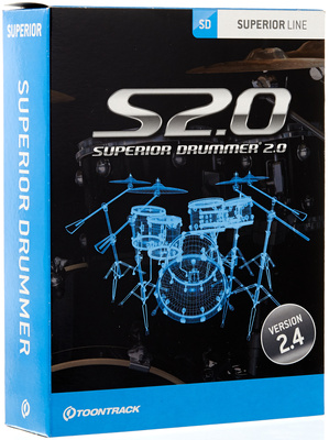 Toontrack Superior Drummer 20 Drum Plugin