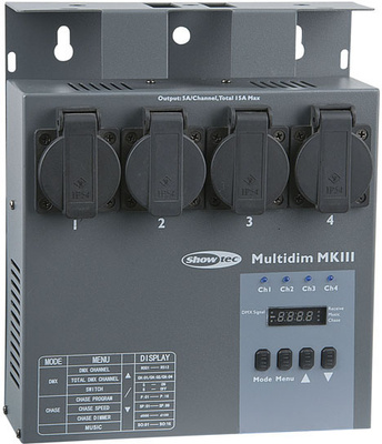 Showtec MultiDim MKIII DMX