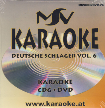 World of Karaoke Deutsche Schlager 6 CDG + DVD