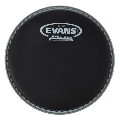 "Evans B10ONX2 10"" Drum Head Onyx BK"