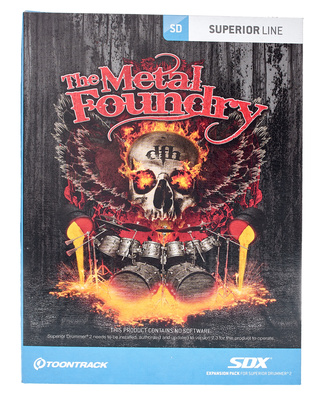 Toontrack Metal Foundry SDX