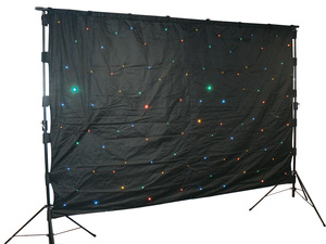 Varytec LED Backtruss Curtain RGBY 2x3