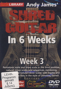 Music Sales Shred Guitar Week 3