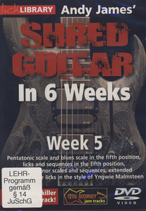 Music Sales Shred Guitar Week 5