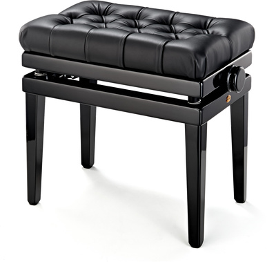 Andexinger 486 S Piano Bench Leather BK