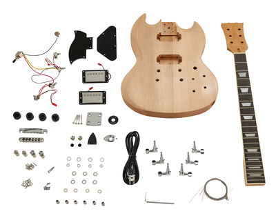 Harley Benton Electric Guitar Kit SG-Style