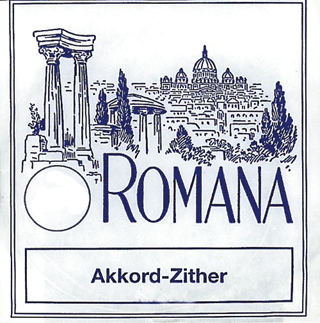 Romana Akkordzither Strings D4 Akkord