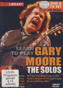 Music Sales Gary Moore The Solos