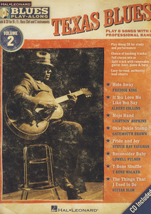Hal Leonard Blues Play Along Texas Blues