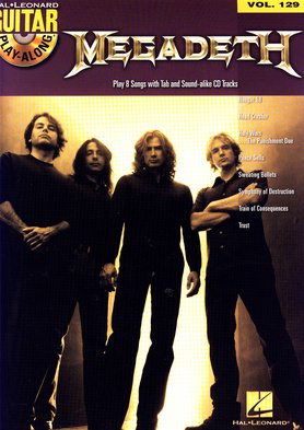 Hal Leonard Guitar Play Along Megadeth