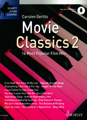 Schott Piano Movie Classics 2