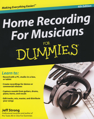 Wiley Publishing Homerecording for Musicians
