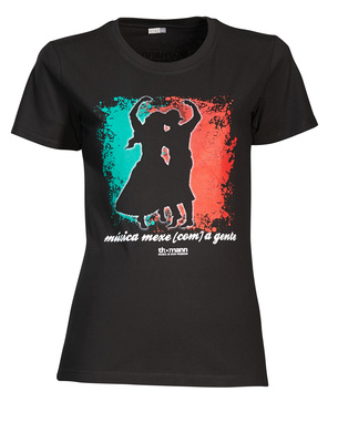 "Thomann Girlie T Shirt ""música..."" S"
