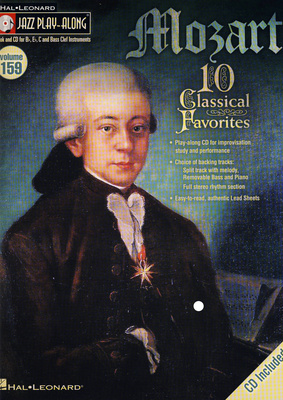 Hal Leonard Jazz Play Along Mozart Vol.159