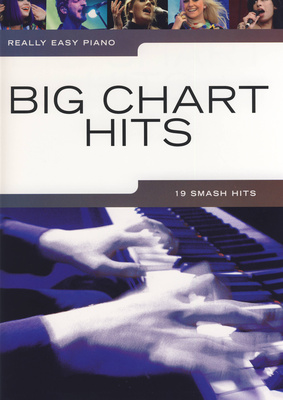 Wise Publications Really Easy Piano| Big Chart