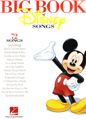 Hal Leonard The Big Book Of Disney Clarin.